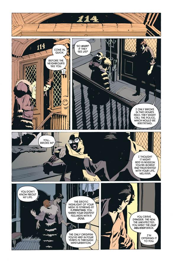 The Discipline - Peter Milligan (W), Leandro Fernandez (A) • Image Comics