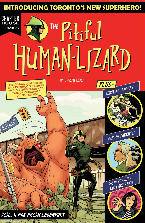 The Pitiful Human Lizard by Jason Loo (Chapterhouse Comics)