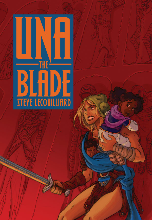 Una the Blade by Steve LeCouilliard (Cloudscape Comics Society)