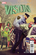 The Vision - Tom King (W), Gabriel Hernandez Walta (A) • Marvel Comics