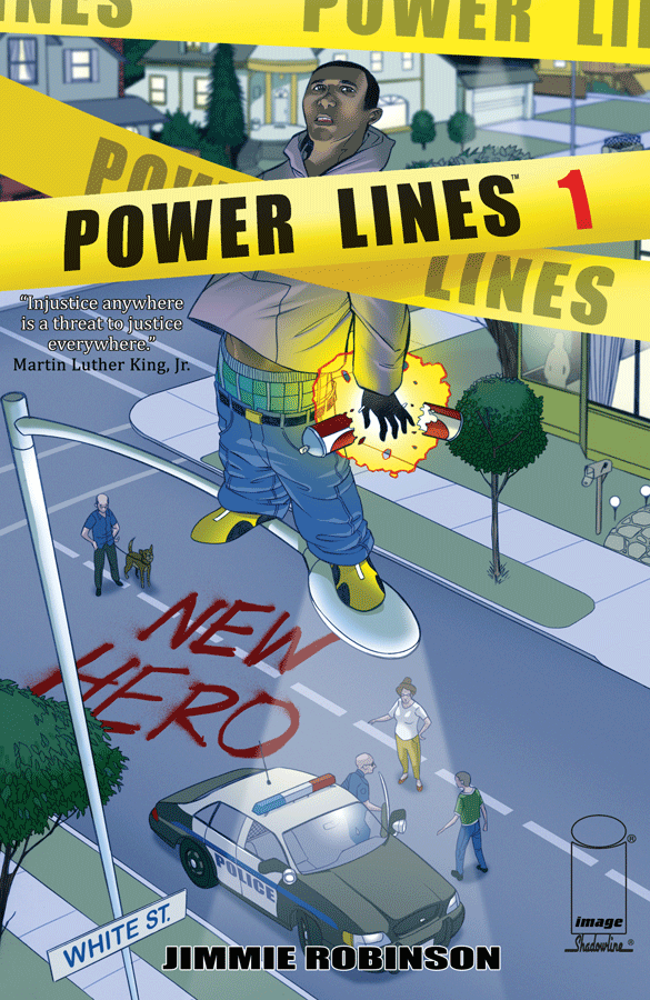 Power Lines - Jimmie Robinson (W/A) • Image Comics