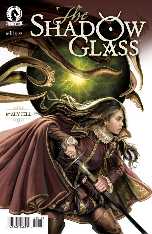 Shadow Glass by Aly Fell (Dark Horse Comics)