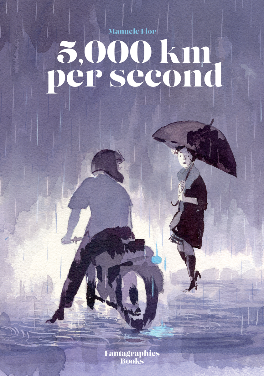5,000 km Per Second by Manuele Fior (Fantagraphics Books)