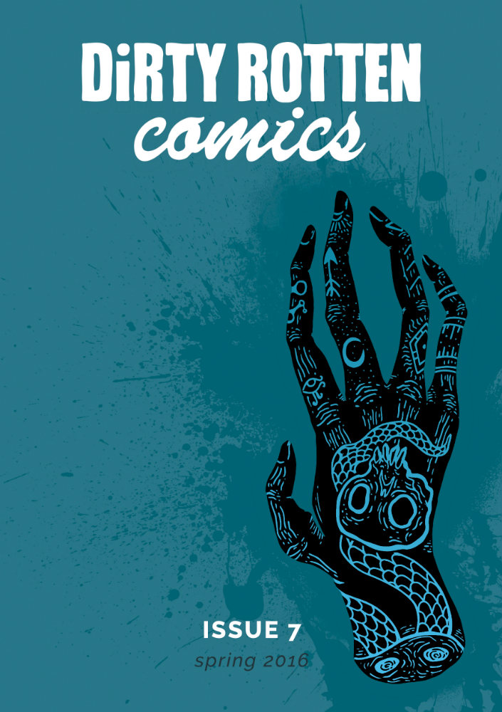 Dirty Rotten Comics - Issue 7 (Throwaway Press)