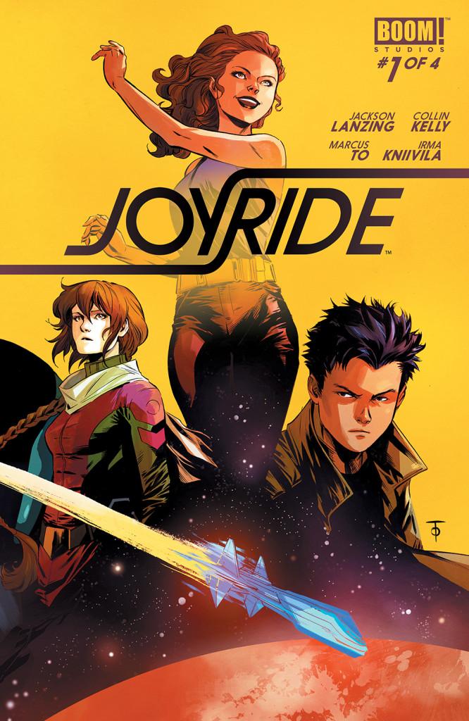 Joyride (Jackson Lanzing, Colin Kelly, Marcus To, Irma Kniivila; Boom! Studios)