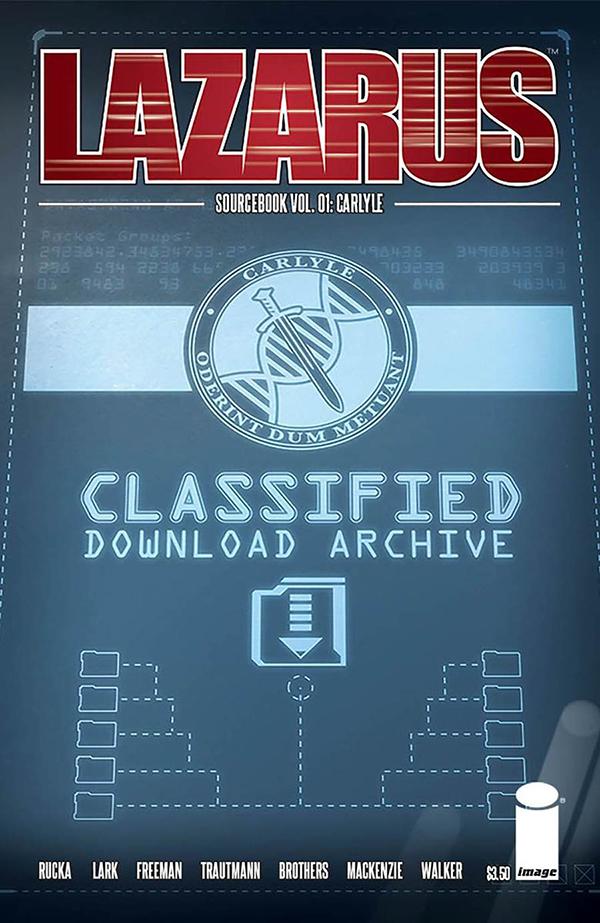 Lazarus Sourcebok - Greg Rucka (W), Michael Lark & Owen Freeman (A) • Image Comics