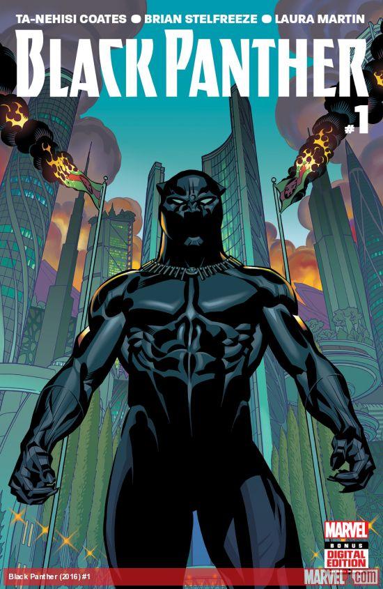 Black Panther 1 - Ta-Nehisi Coates (W), Brian Stelfreeze (A) • Marvel Comics