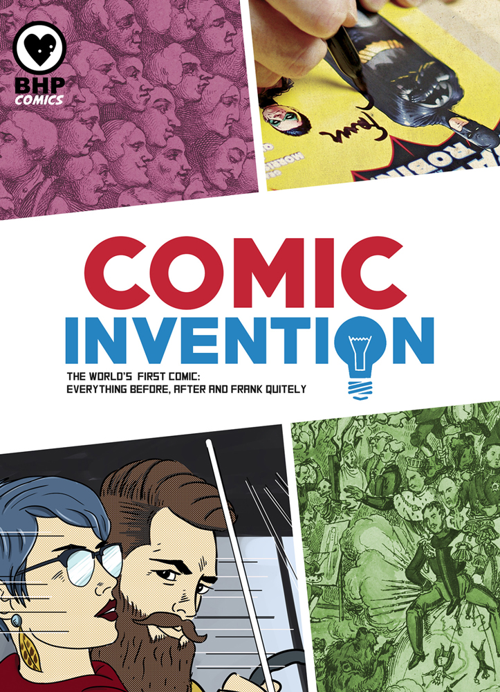 Comics Invention, BHP Comics/Hunterian Art Gallery, University of Glasgow