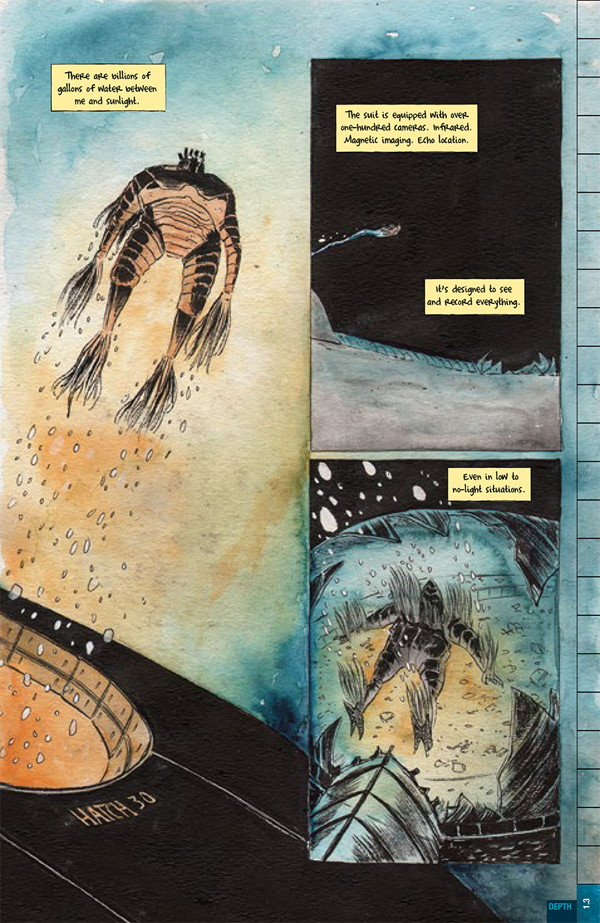 Dept H (Matt Kindt & Sharlene Kindt; Dark Horse Comics)
