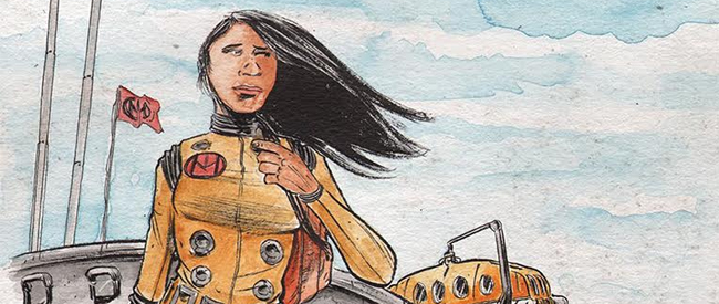 Dept H #1 by Matt Kindt and Sharlene Kindt (Dark Horse Comics)