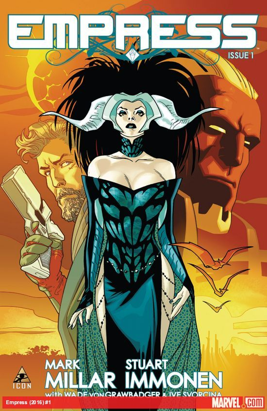 Empress - Mark Millar (W), Stuart Immonen (A), Dave McCaig (C) • Marvel Comics/ICON