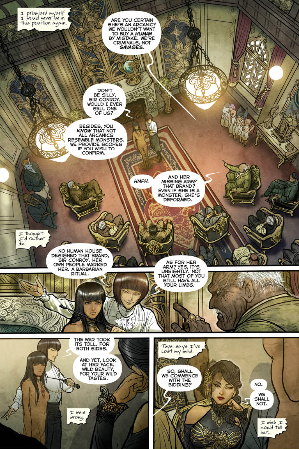 'Monstress' (Image Comics), by Marjorie Liu and Sana Takeda
