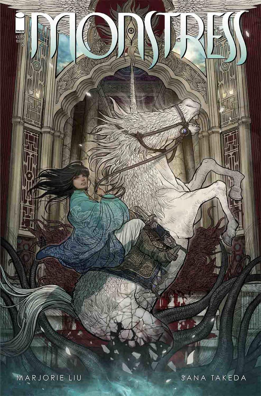 Monstress - Marjorie Liu (W), Sana Takeda (A) • Image Comics