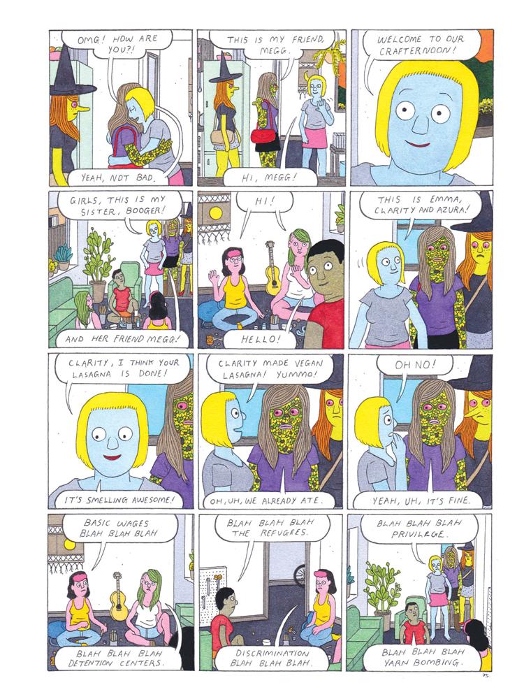 Megg and Mogg in Amsterdam by Simon Hanselmann (Fantagraphics Books)