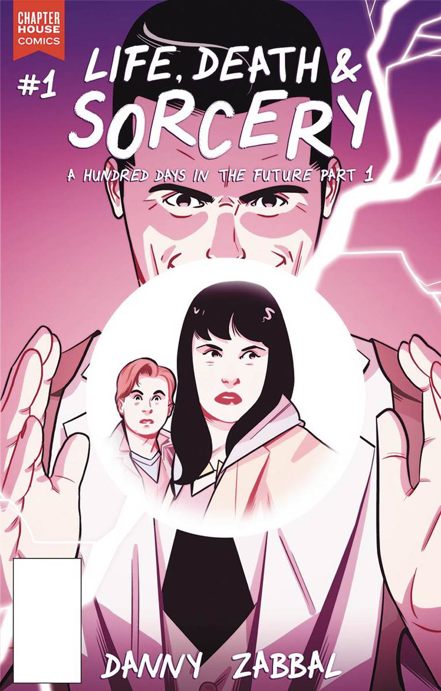 Life Death and Sorcery - Danny Zabbal (W, A) • Chapterhouse Comics