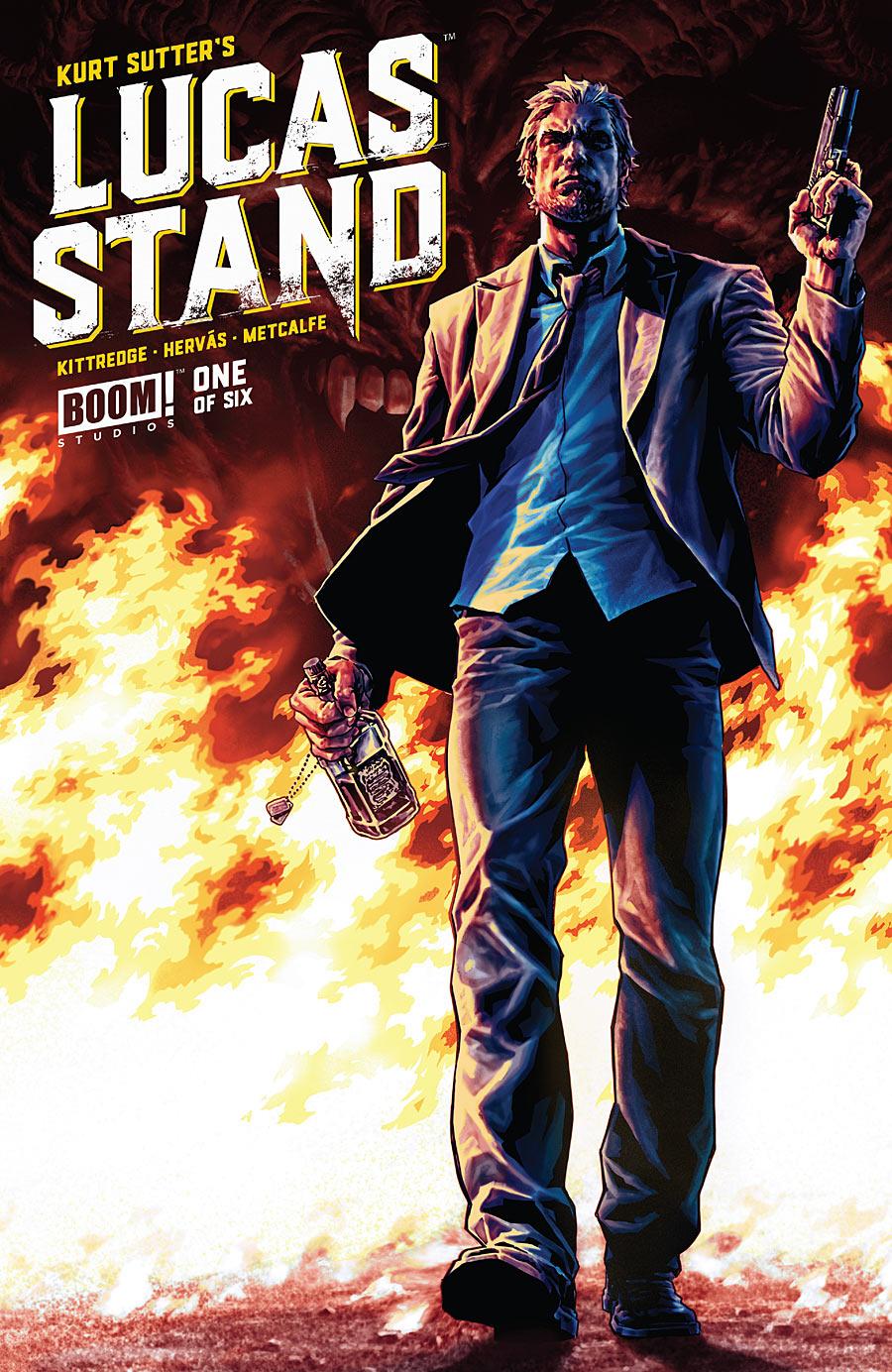 Lucas Stand - Kurt Sutter, Caitlin Kittredge (W), Jesus Hervas (A) • Boom! Studios