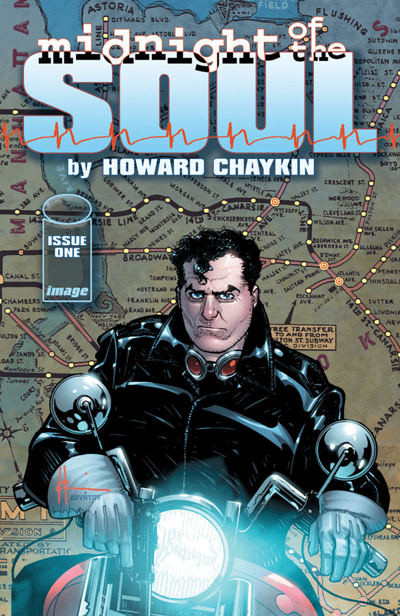 Midnight of the Soul - Howard Chaykin (W/A) • Image Comics