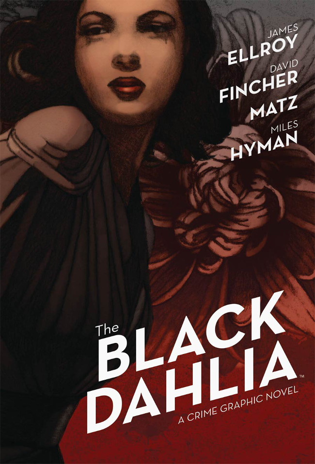 The Black Dahlia GN Cover by Miles Hyman