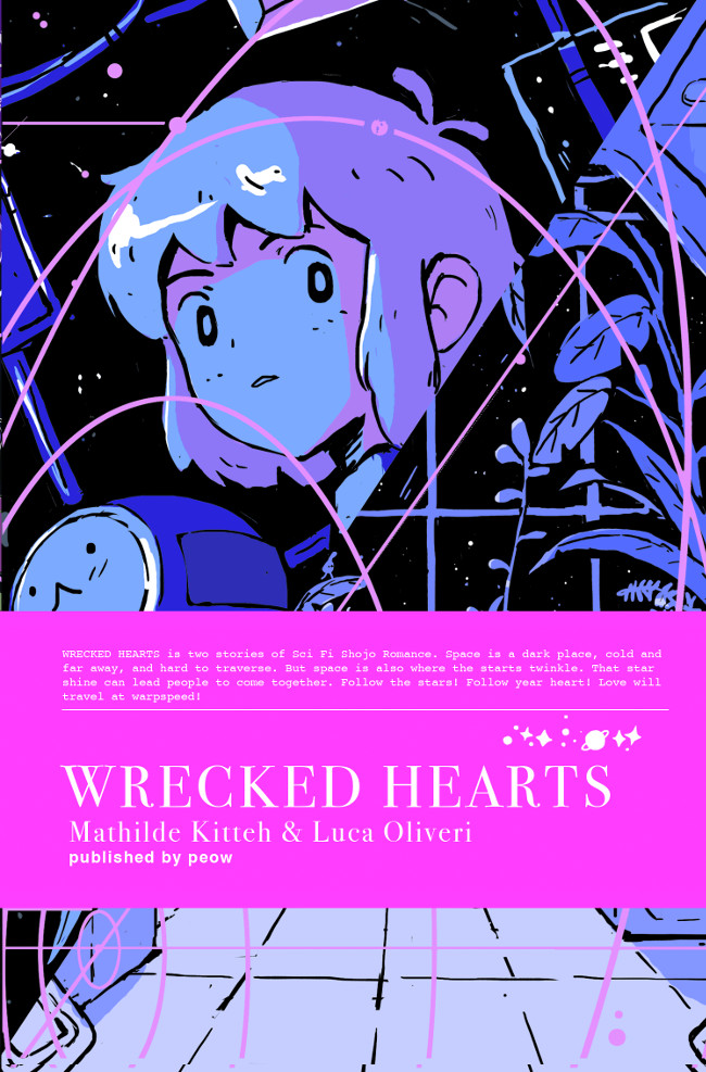 Wrecked Hearts - Luca Oliveri & Mathilde Kitteh (W/A) • Peow! Studio