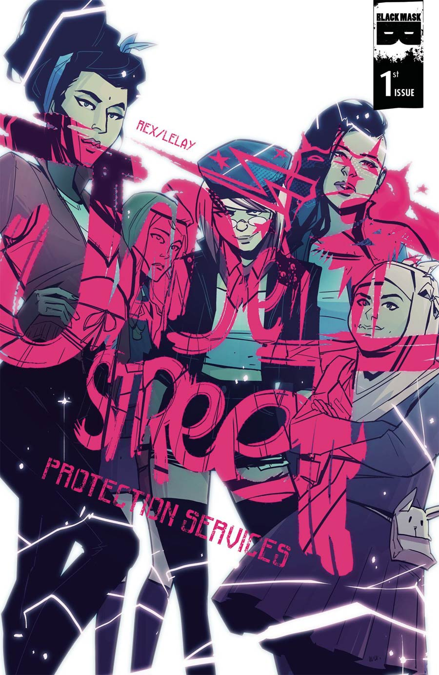 Jade Street Protection Services - cover by Annie Wu