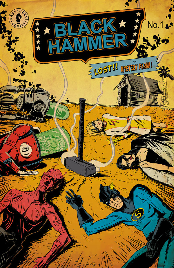 Black Hammer 1 Lemire Cover