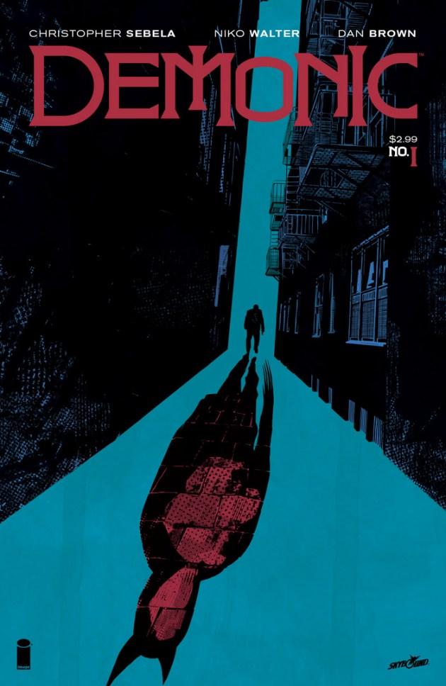 Demonic #1 cover