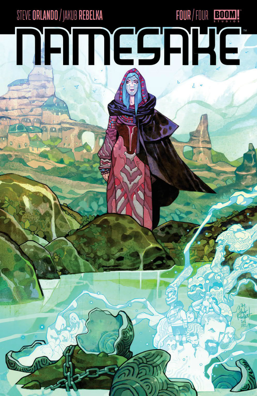 3 Reasons Why You Need to Read 'Namesake' by Steve Orlando