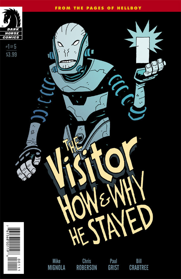 The Visitor #1 Cover