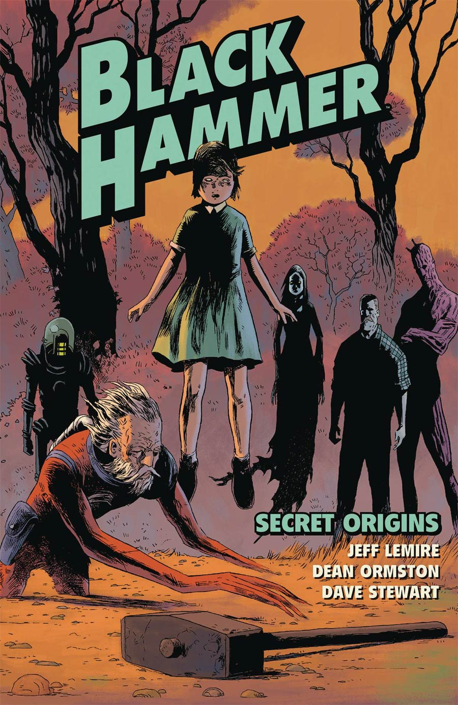 Black Hammer Vol 1 Cover