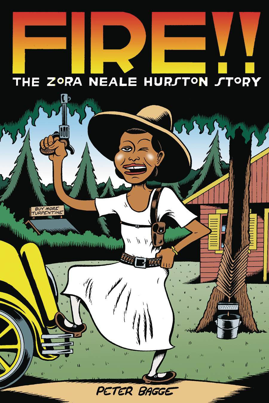 Fire!! The Zora Neale Hurston Story HC Cover
