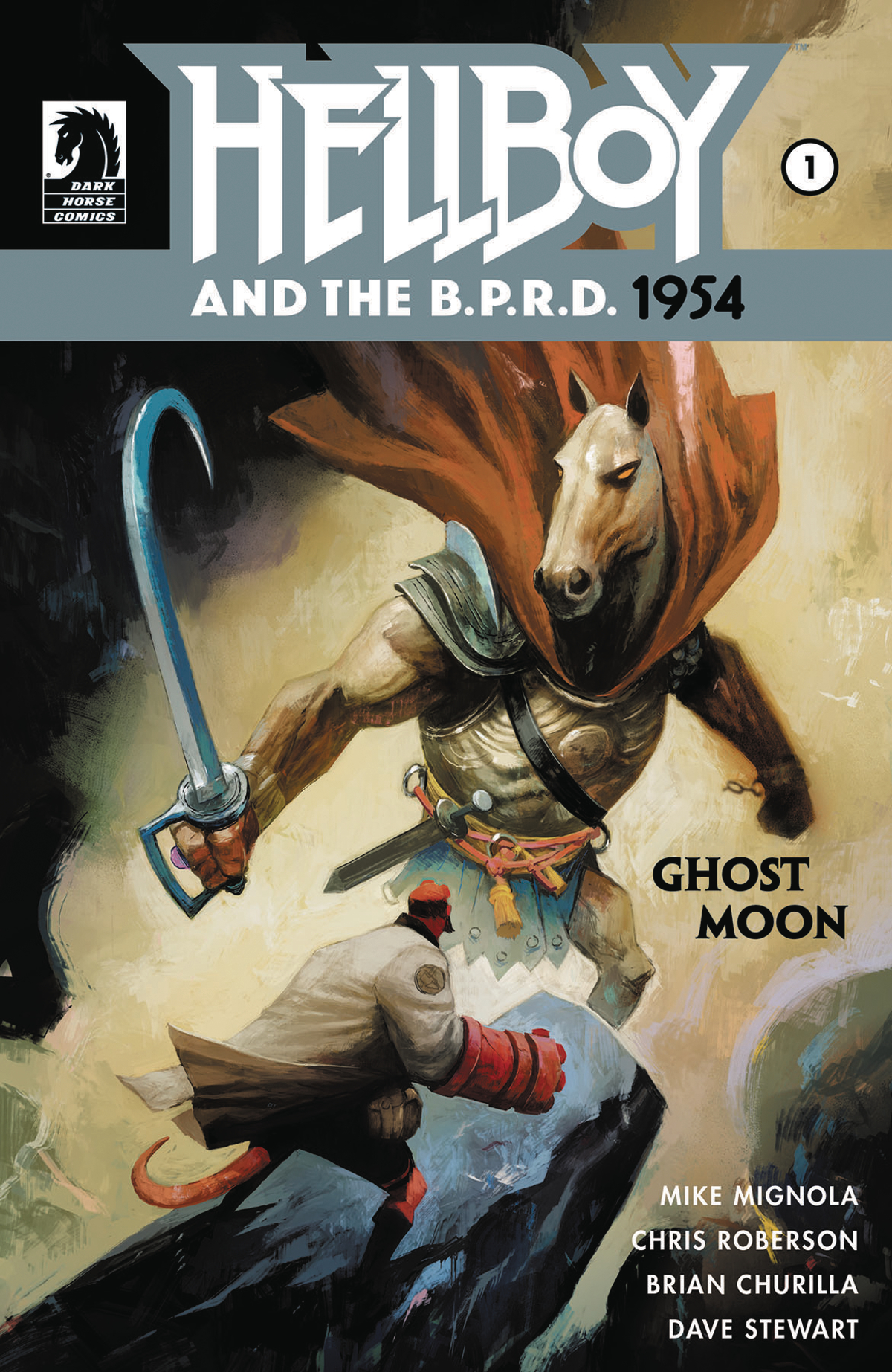 Hellboy and the B.P.R.D. 1954: Ghost Moon #1 Cover