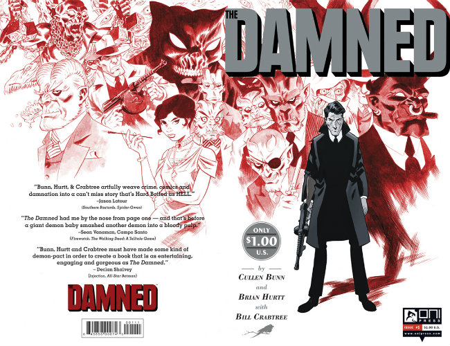 The Damned Ongoing Cover