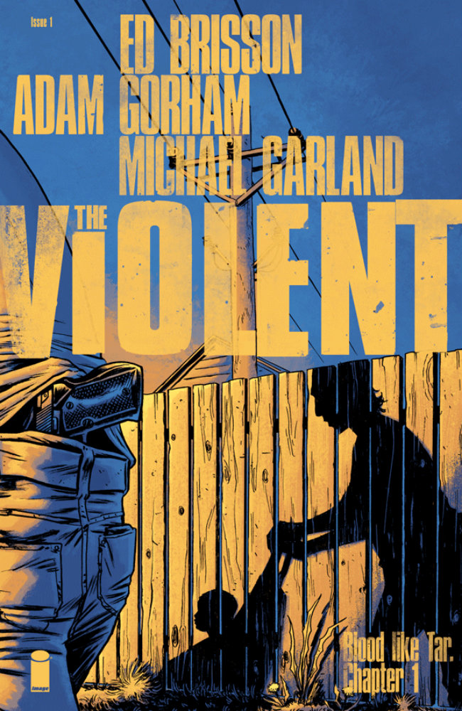 The Violent TPB Cover