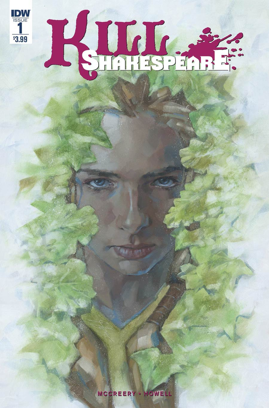 Kill Shakespeare Juliet #1 Cover