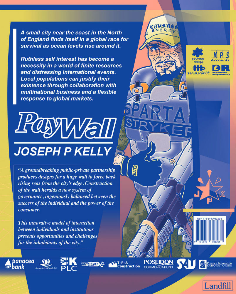 Science Fiction Graphic Novels: Joseph P Kelly's New Graphic Novel From
