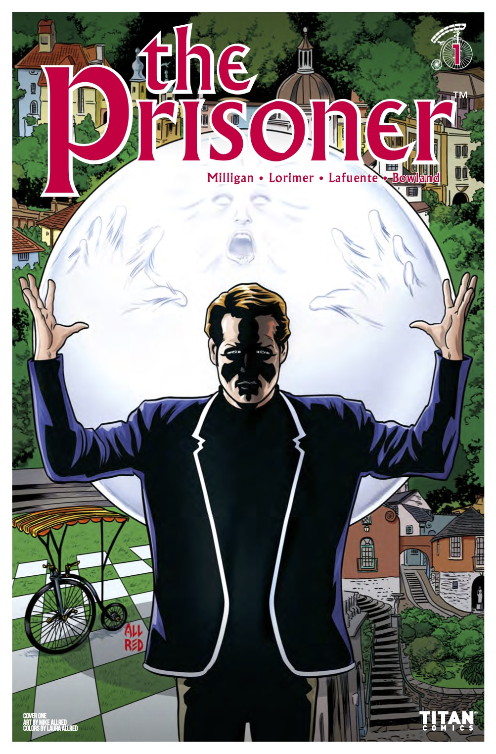 The Prisoner - Peter Milligan & Colin Lorimer (Titan Comics)