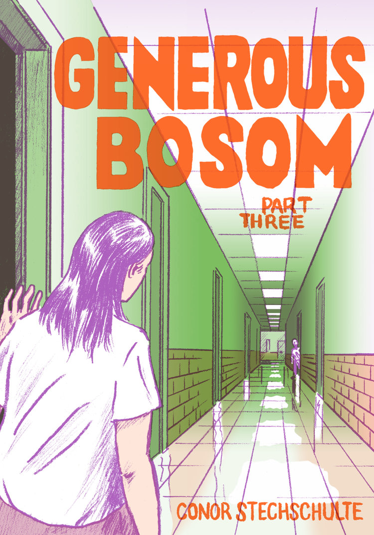 Generous Bosom by Conor Stechschulte (Breakdown Press)