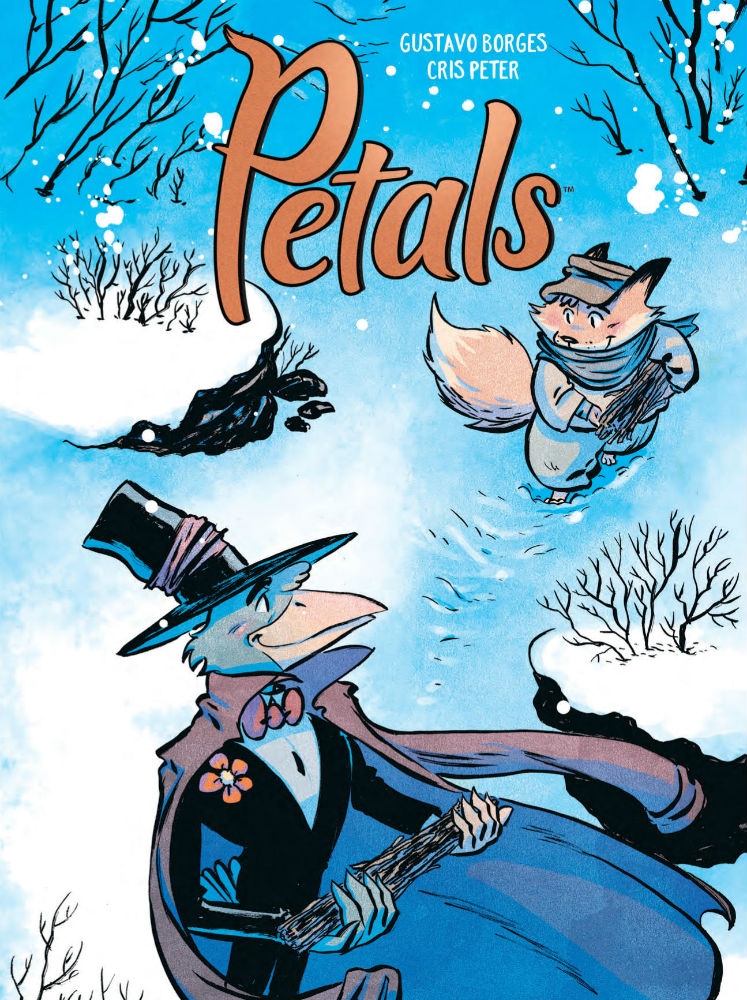 Petals - Borges and Peter's All-Ages Story is Both a Poignant Tear