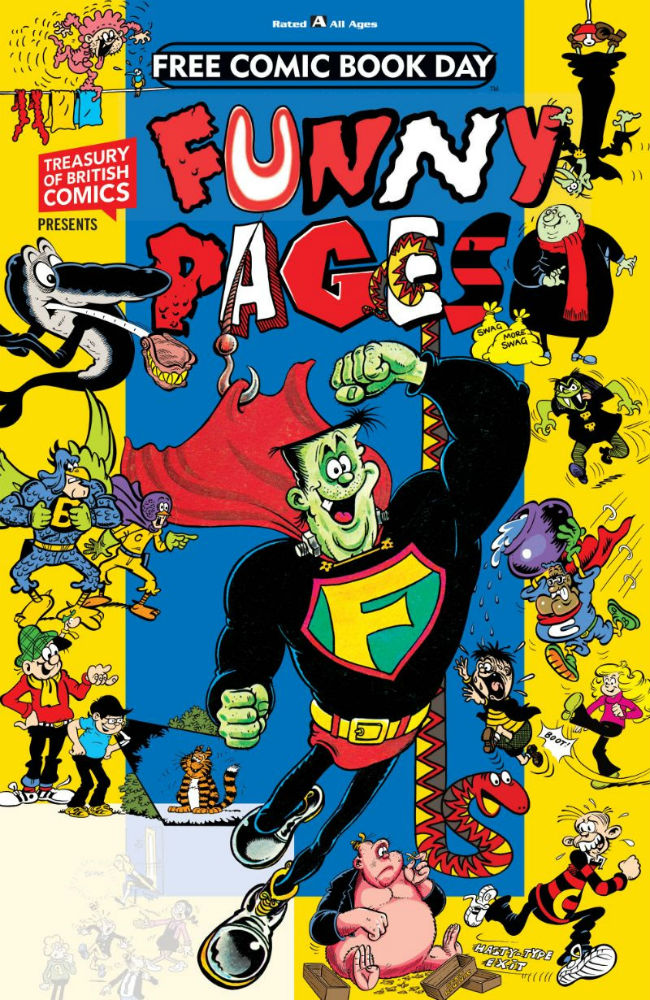 the funny pages comes to free comic book day 2019 rebellion s