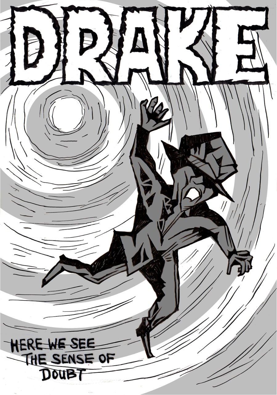 Drake Goes into the Underworld by Ed Pinsent