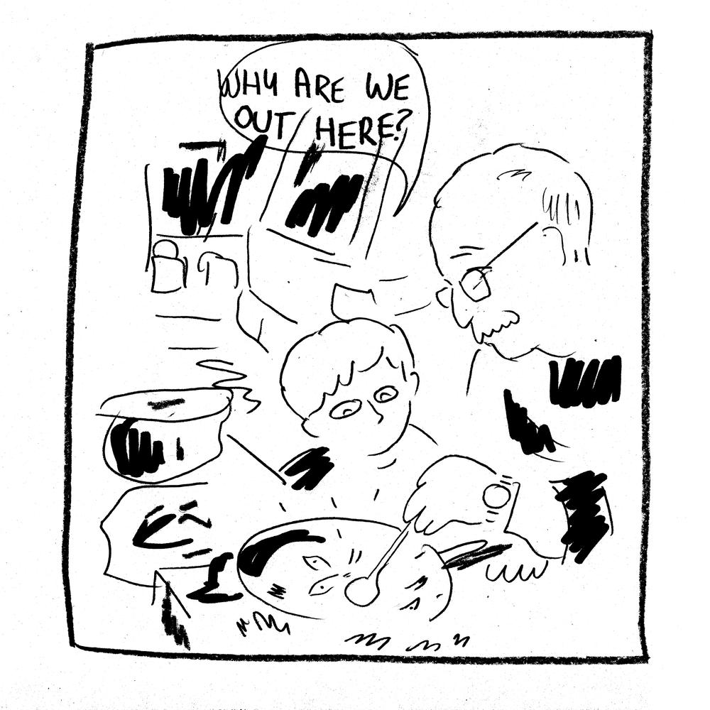 'Where?' by Simon Moreton (Minor Leagues)