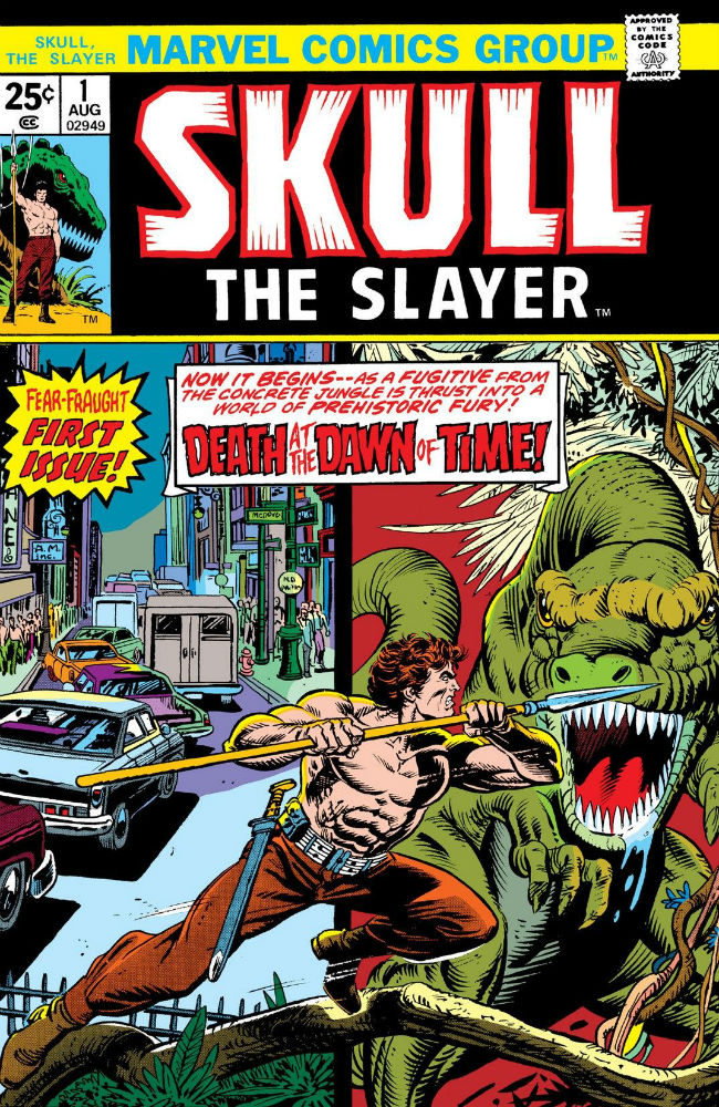 Retroflect: Skull the Slayer – Looking Back on the Short-Lived 1970s Series that Brought Dinosaurs, Time Warps and the Bermuda Triangle to the Marvel Universe