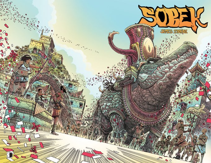 Image result for Sobek - James Stokoe