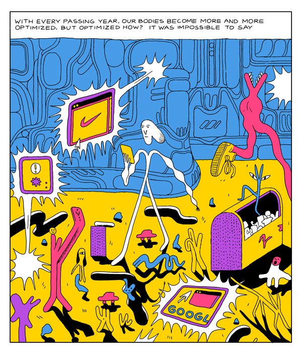 Familiar Face by Michael DeForge (Drawn & Quarterly)