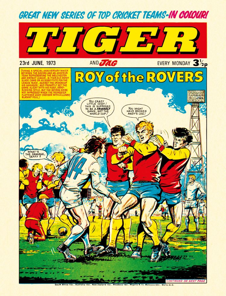 Roy of the Rovers: The Best of the 1970s - the Tiger Years