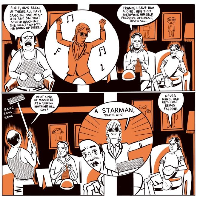 Starman: Freddie Burretti - The Man Who Sewed the World by Paul B Rainey